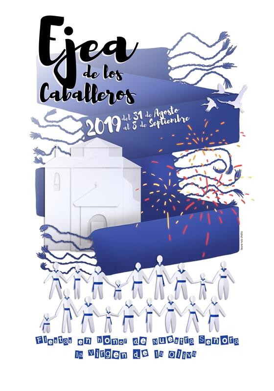 #FiestasEjea2019 · Domingo 8 Septiembre