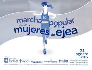 La marcha popular de las mujeres de Ejea cumple 10 años reivindicando igualdad