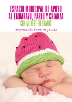 Espacio municipal de apoyo al embarazo, parto y crianza «con mi bebé en brazos» 2019