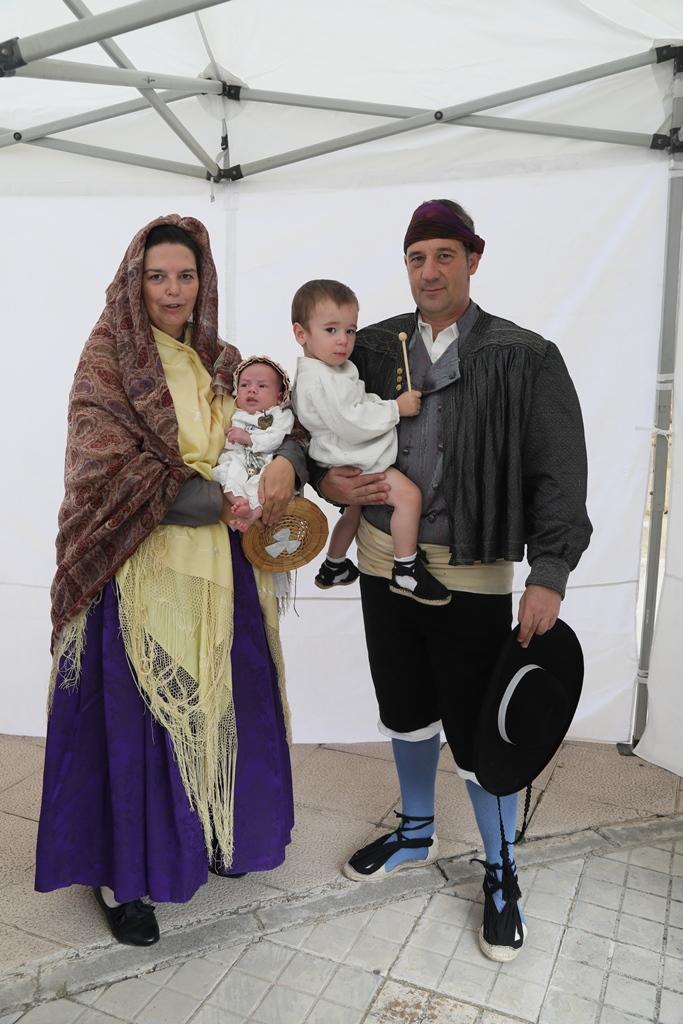 """Las piezas antiguas triunfan en el """"II Concurso de Indumentaria Tradicional Aragonesa"""" de las Fiestas de la Virgen de la Oliva 2019"""