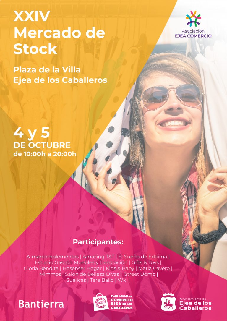 Cartel XXIV Mercado de Stock 05-10-19