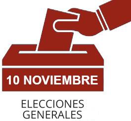 Consulta del censo electoral. Elecciones Generales 10 de noviembre de 2019