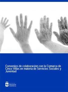El Ayuntamiento de Ejea y la Comarca de las Cinco Villas suscriben varios convenios en materia de Servicios Sociales y Juventud