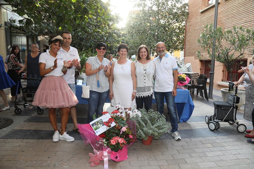 Marisa Millas y su exuberante «jardinera aterciopelada» gana el concurso de macetas 2019