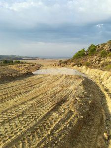 Mejora de las pistas del Monte de la Marcuera de Ejea