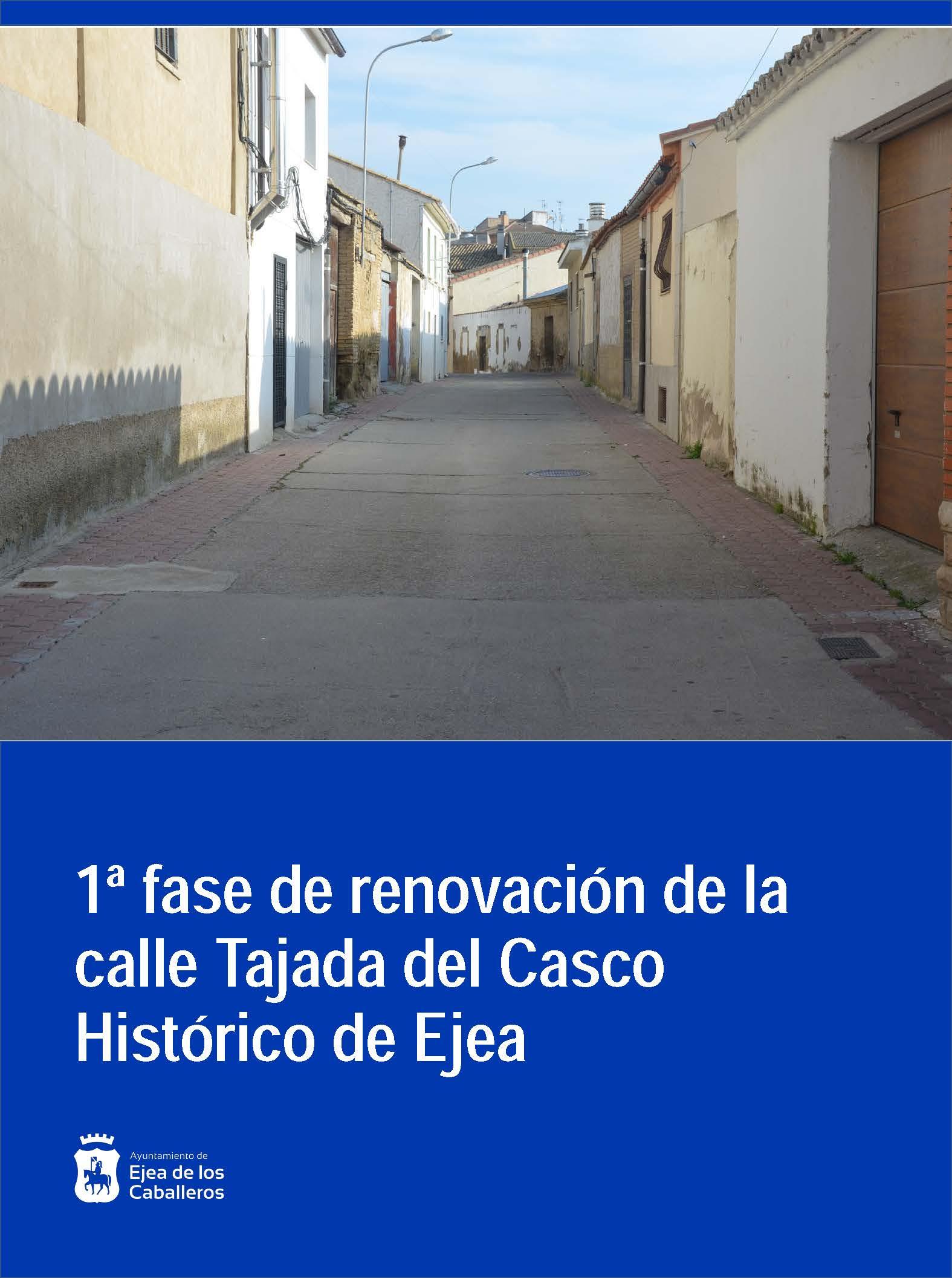 Renovación de la calle Tajada en Ejea