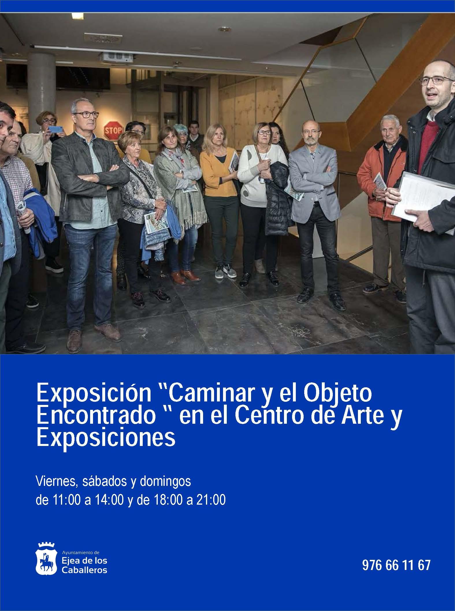 """""""ALEJANDRO AZÓN BALLARÍN. CAMINAR Y EL OBJETO ENCONTRADO"""": Nueva exposición en el Centro de Arte y Exposiciones de Ejea"""