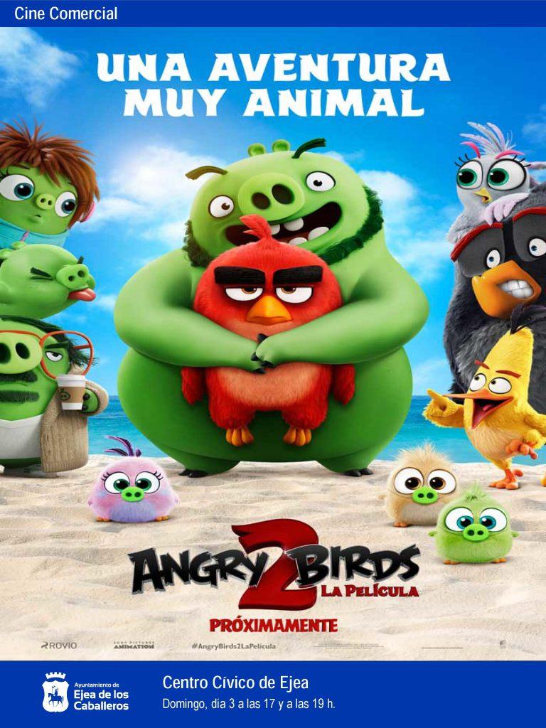 """Cine: """"Angry Birds 2"""" , una película familiar y muy visual, llena de diversión"""