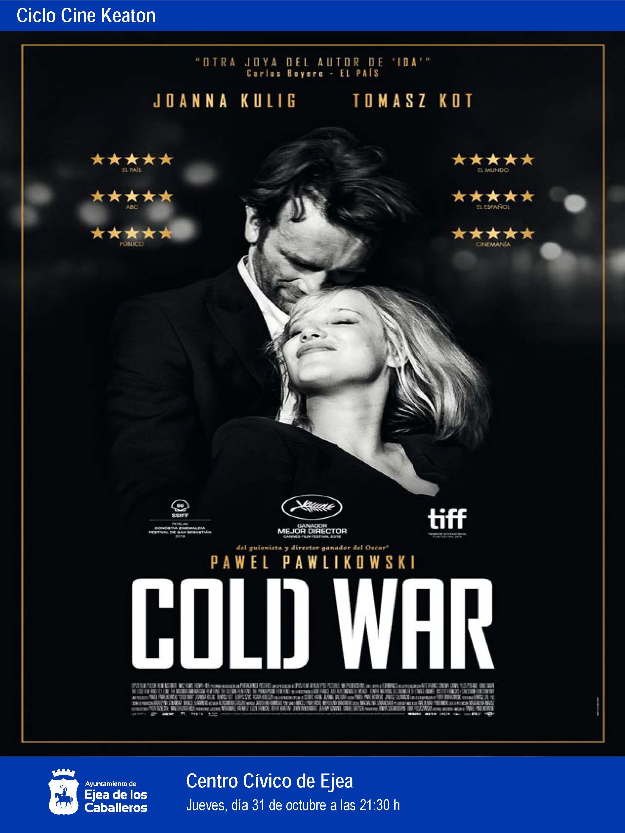 """Ciclo Cine Keaton: """"Cold War"""", una historia de amor en la Europa de la Guerra Fría"""