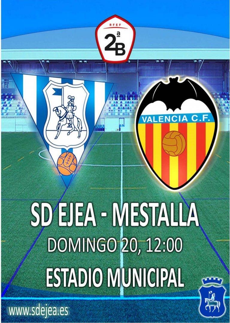 Fútbol Ejea – Mestalla