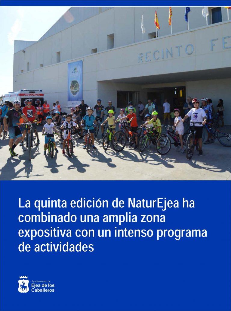 NaturEjea certifica las potencialidades de Ejea y Cinco Villas para el cicloturismo