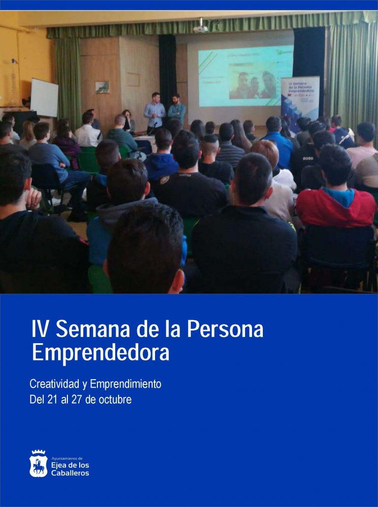 IV Semana de la Persona Emprendedora