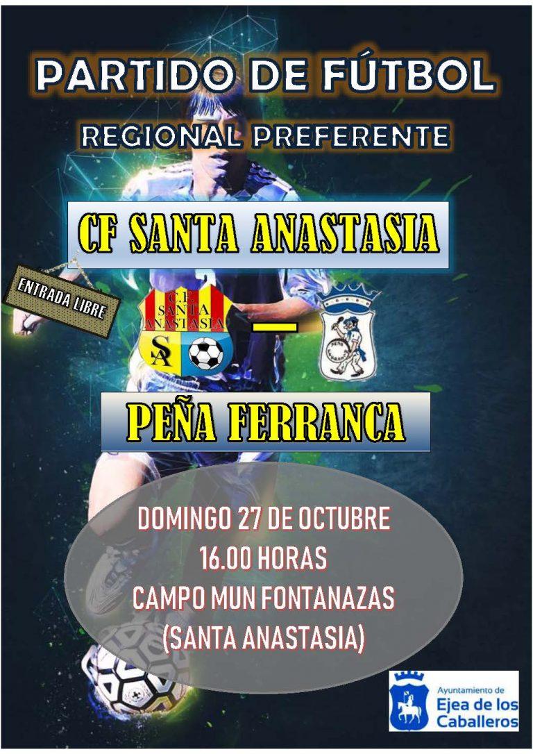 Fútbol Santa Anastasia-Peña Ferranca