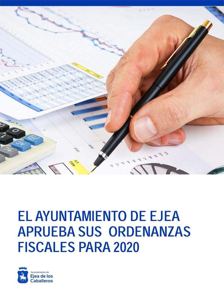 El Ayuntamiento de Ejea aprueba sus Ordenanzas Fiscales para 2020