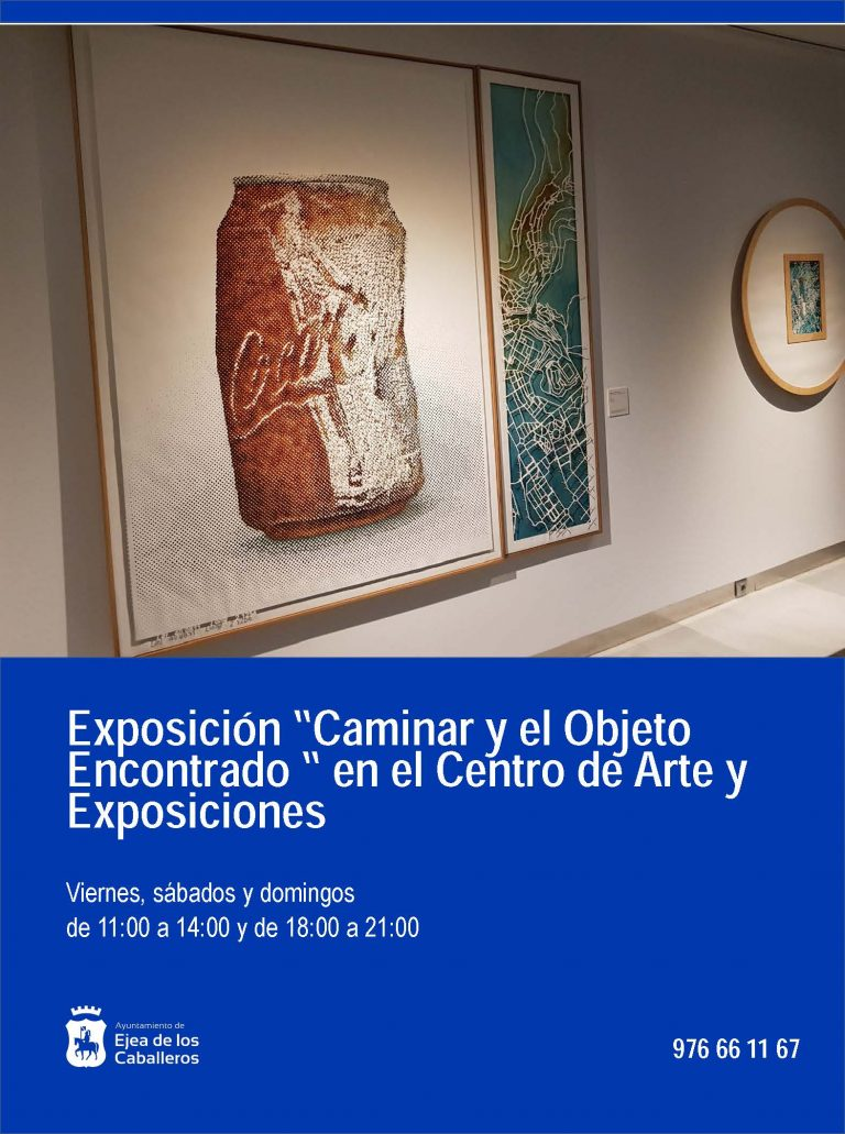 Exposición «Caminar y el Objeto Encontrado»
