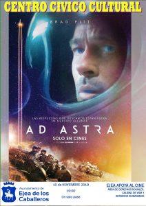 """Ejea apoya al Cine: una película infantil educativa """"El Rey Burro» y una aventura espacial «Ad Astra"""""""