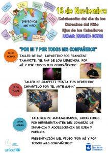 Ejea, Ciudad Amiga de la Infancia, celebra del Día Internacional de los Derechos del Niño