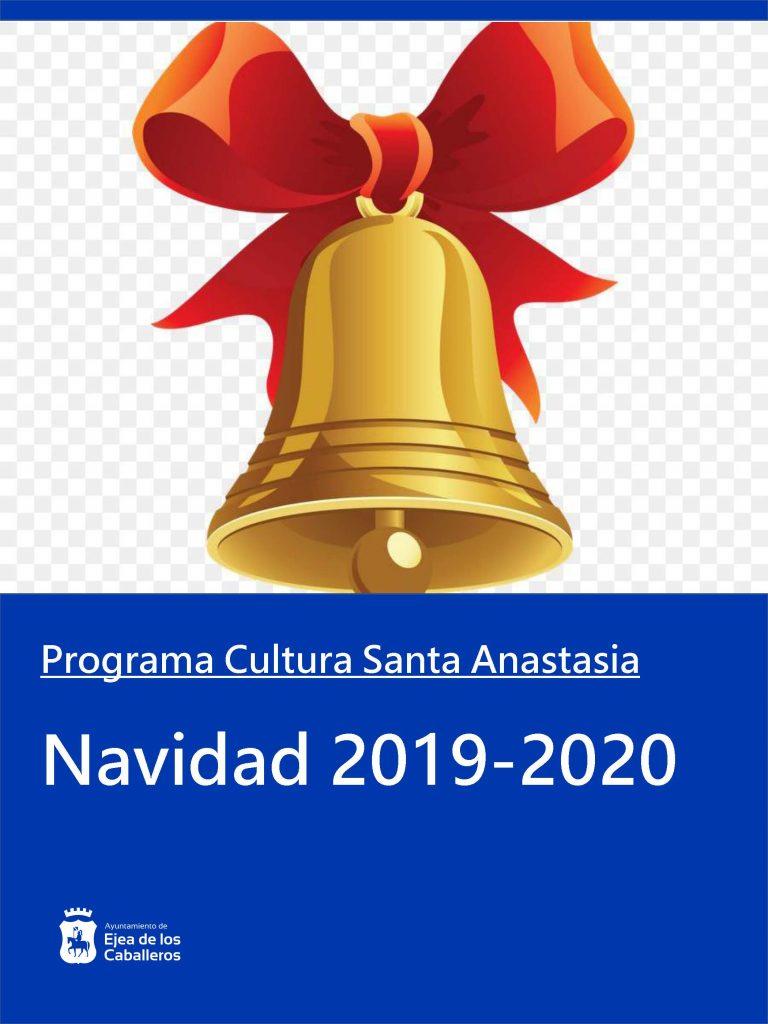 Programa Navidad 2019-2020 en Santa Anastasia