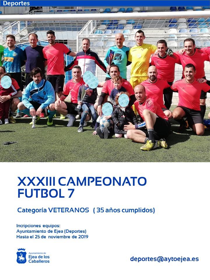 XXII Campeonato Local de Fútbol 7 Veteranos