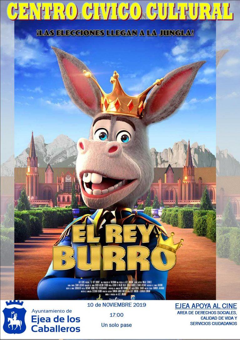 Cine «El Rey Burro»