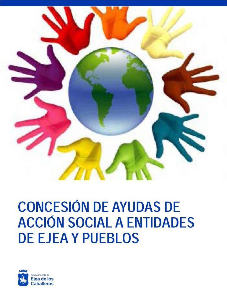 El Ayuntamiento de Ejea concede subvenciones por valor de 52.000 € a varias Asociaciones de Ejea y sus Pueblos