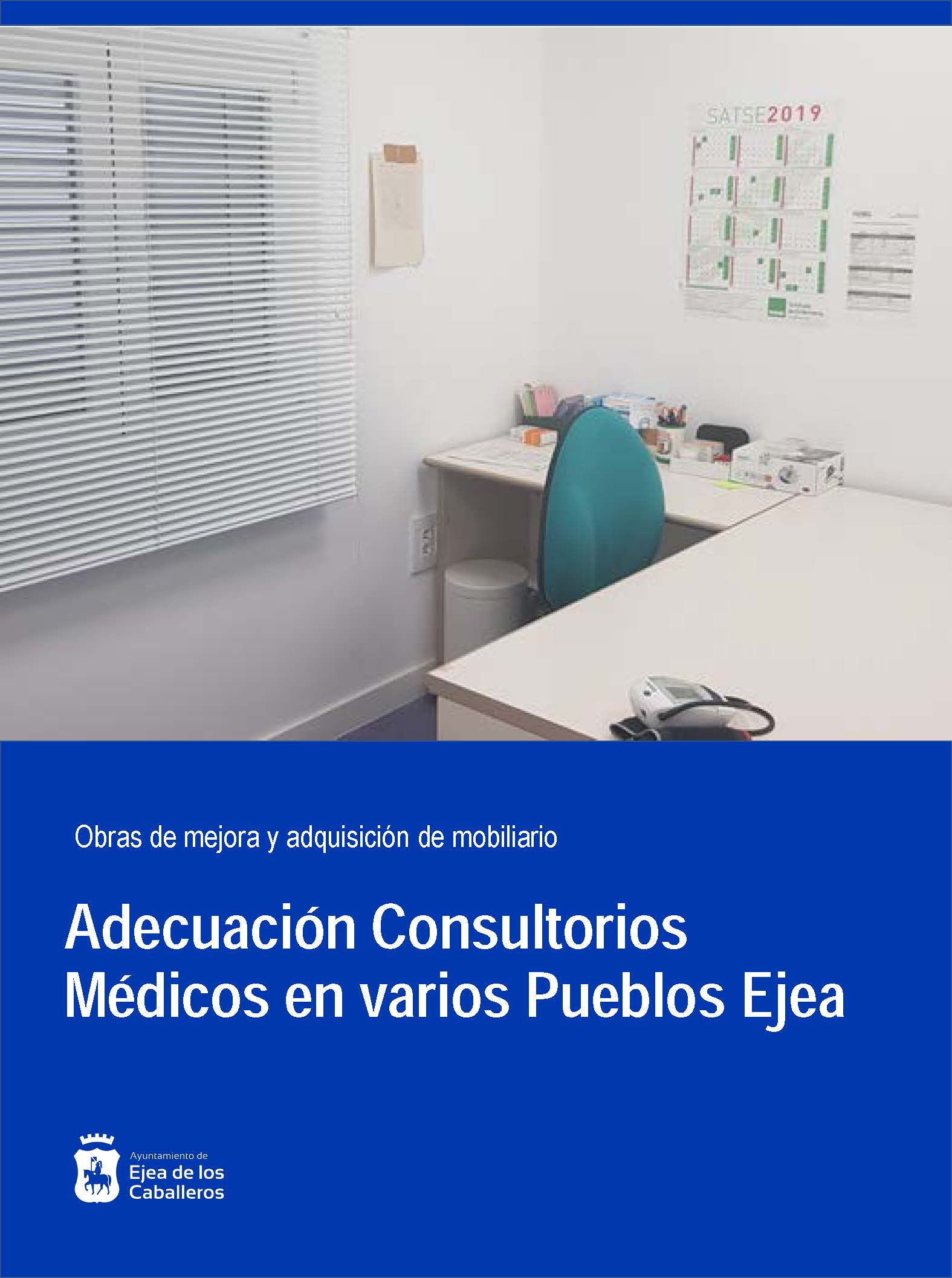 Acondicionamiento de los consultorios médicos de los Pueblos de Ejea