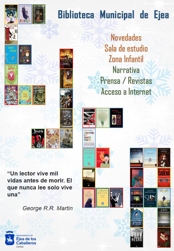 Novedades Bibliográficas en la Biblioteca Municipal de Ejea