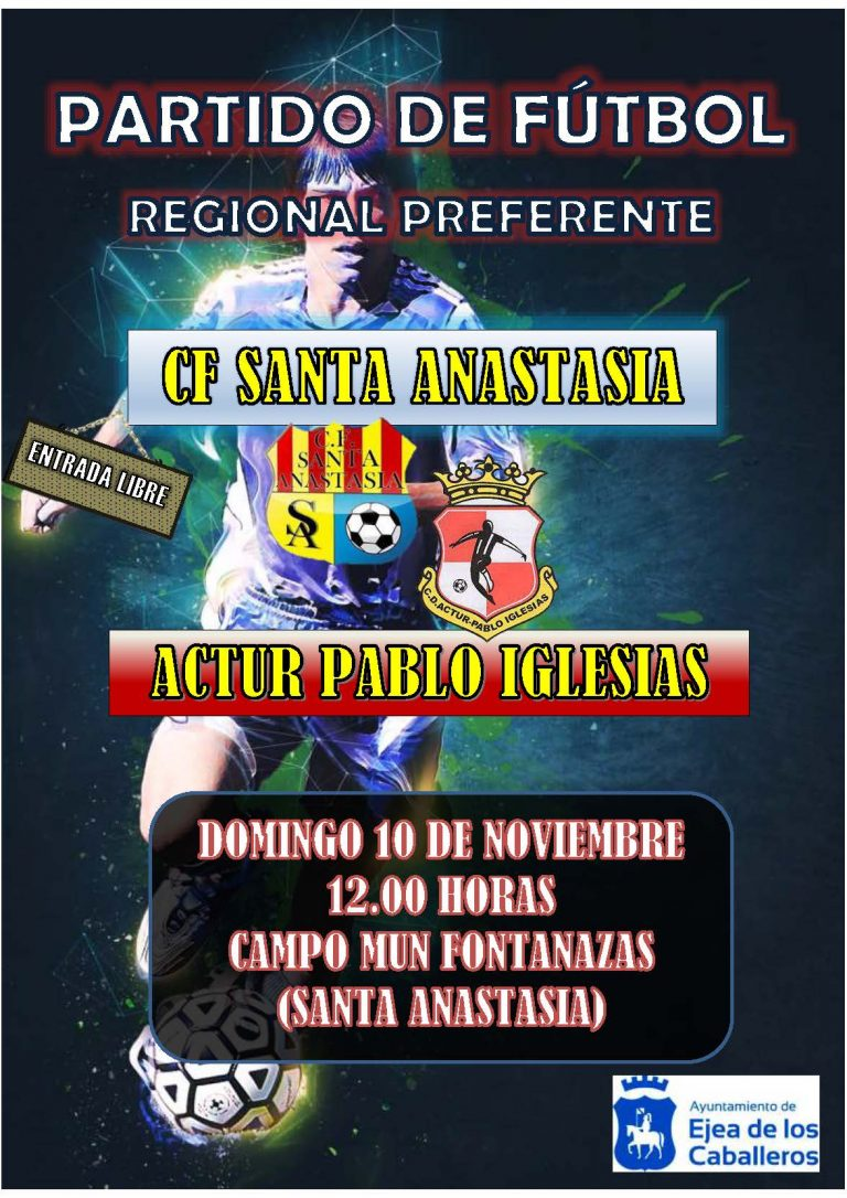 Fútbol Santa Anastasia- Actur Pablo Iglesias