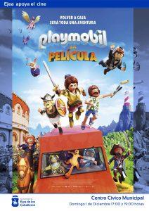 """Ejea apoya el cine: """"Playmobil"""", una película de animación y aventuras con los famosos juguetes de protagonistas"""