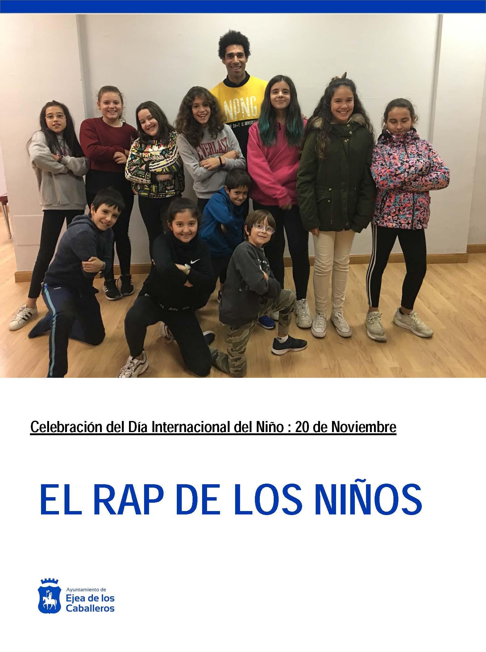 Los niños de Ejea elaboran un RAP para celebrar el Dia Internacional de los Derechos del Niño