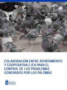 Cooperación entre Ayuntamiento de Ejea y Cooperativa para el control de plagas de palomas