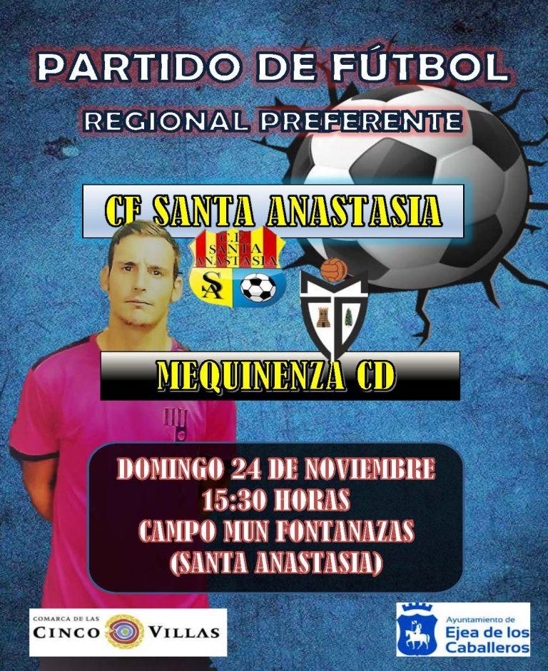 Fútbol Santa Anastasia-Mequinenza