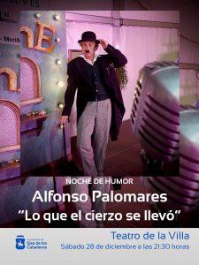 NOCHE DE HUMOR CON ALFONSO PALOMARESY SU PARTICULAR VERSIÓN SOBRE LAS APORTACIONES DE ARAGÓN AL CINE