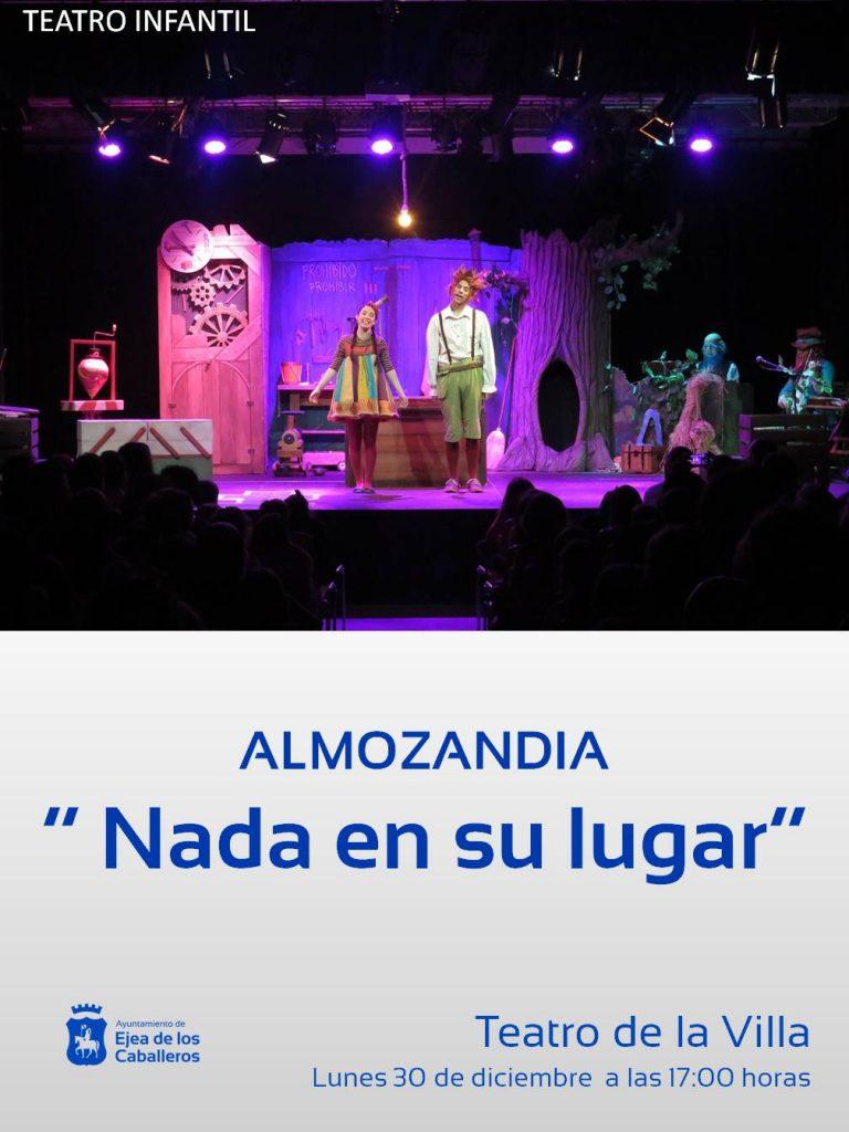 Teatro infantil con Almozandia – «Nada en su lugar»