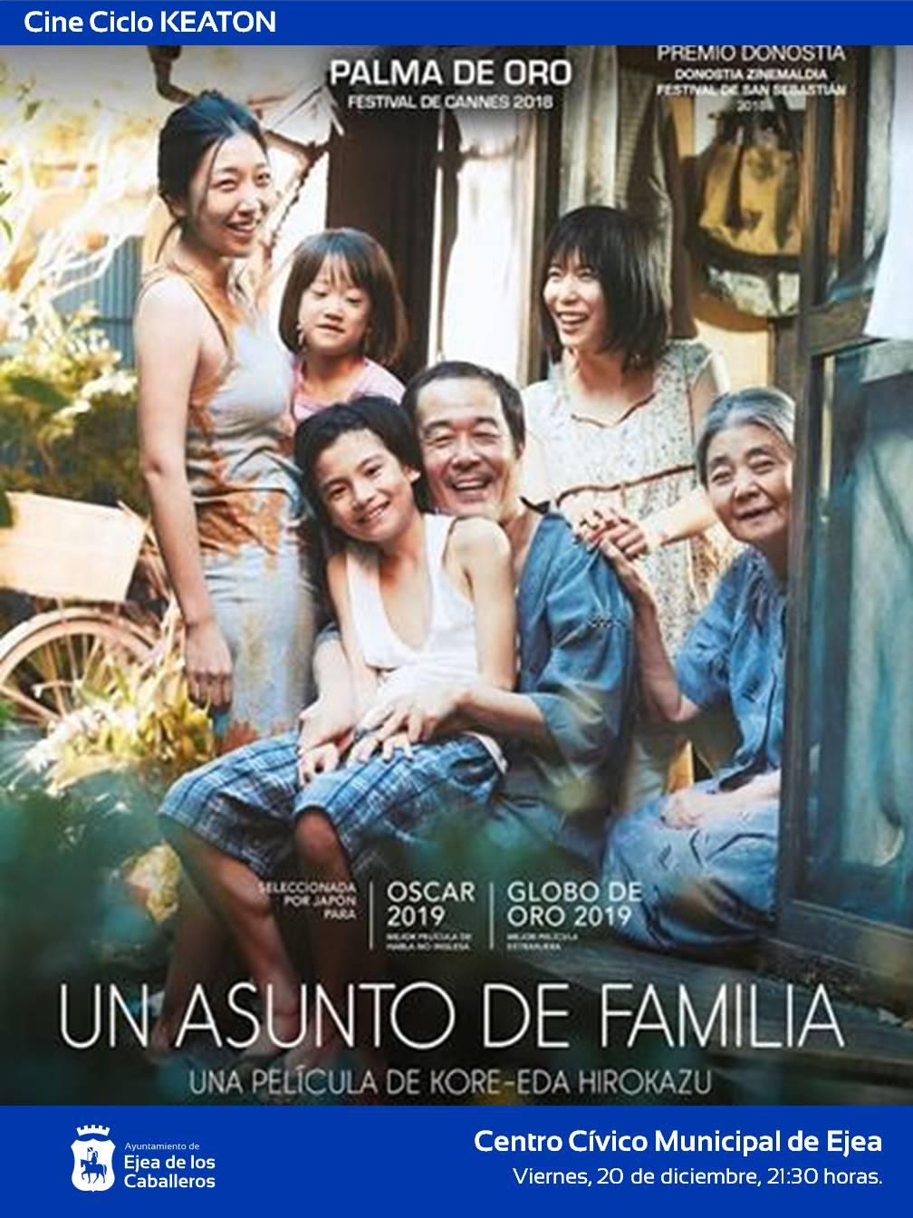 "CICLO DE CINE KEATON: ""Un asunto de familia"", una emotiva película del cineasta japonés Hirozaku Koreeda"