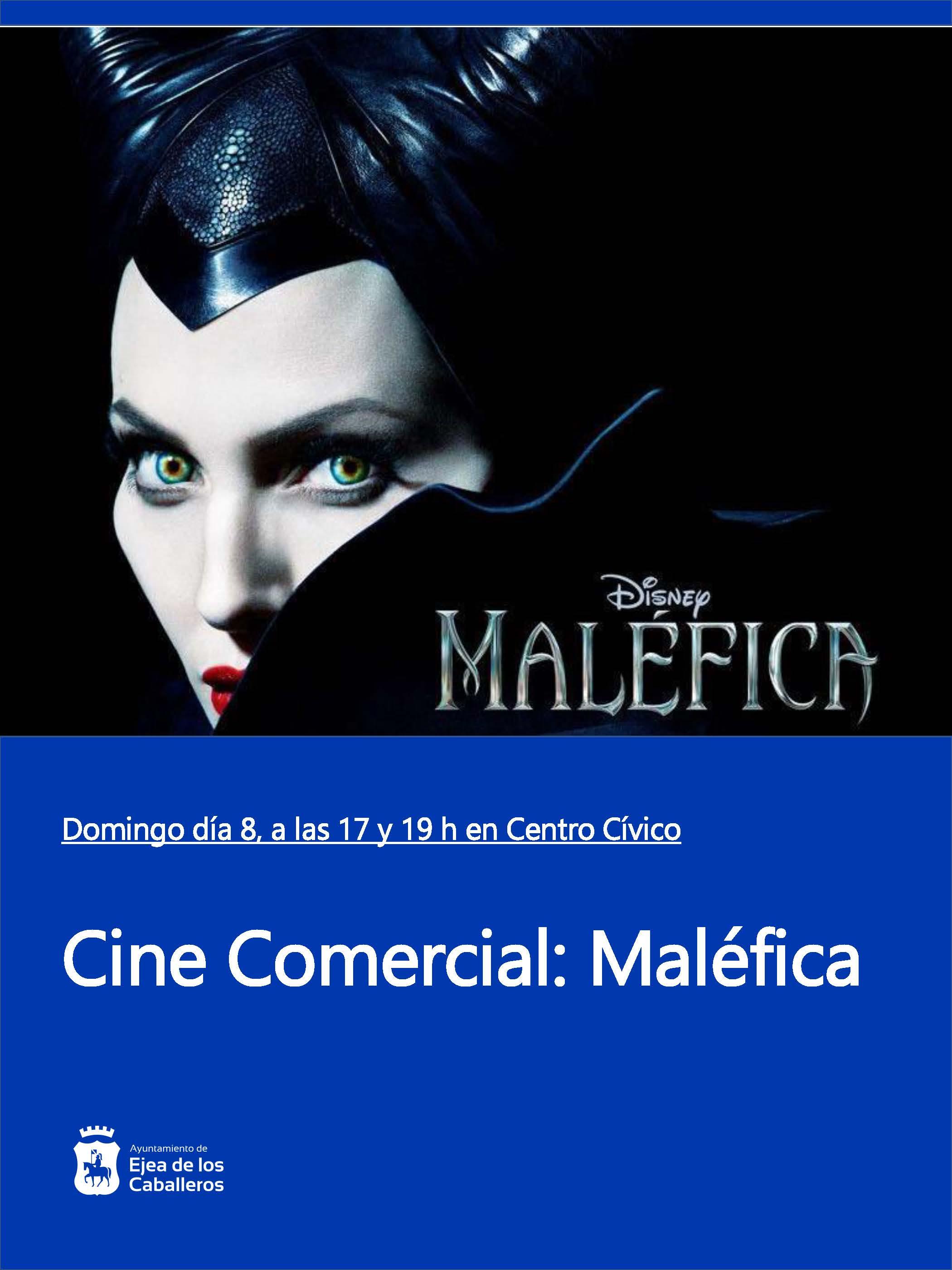 """Ejea apoya el Cine: """"MALÉFICA"""", una reescritura de los cuentos de hadas"""