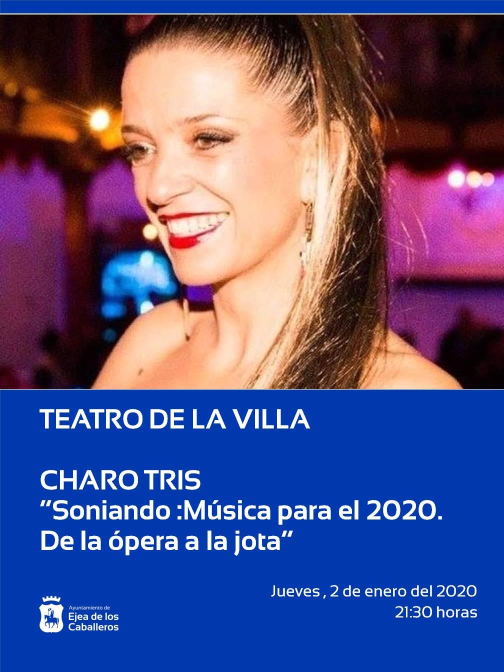 CONCIERTO DE AÑO NUEVO CON LA CANTANTE CHARO TRIS