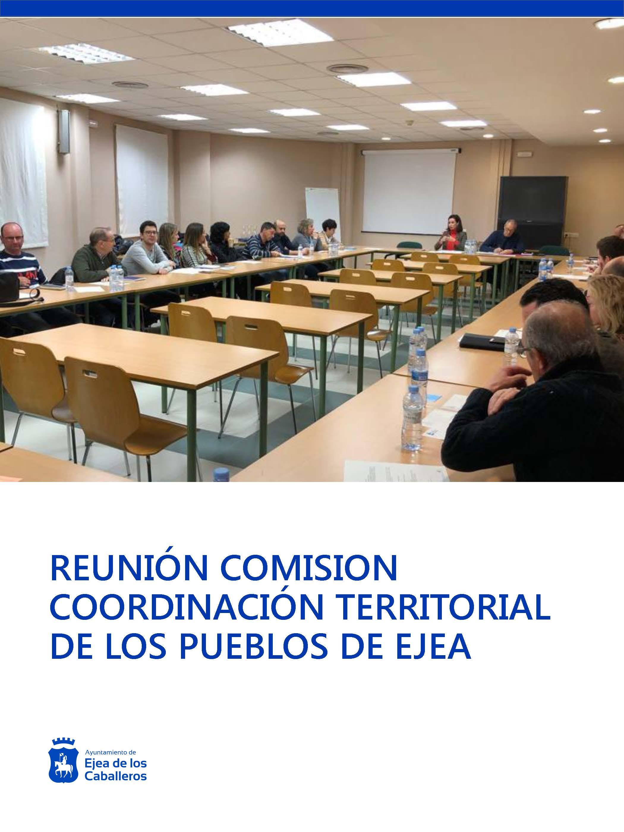 Las inversiones y el funcionamiento de los servicios públicos centran la Comisión de Coordinación Territorial del Municipio