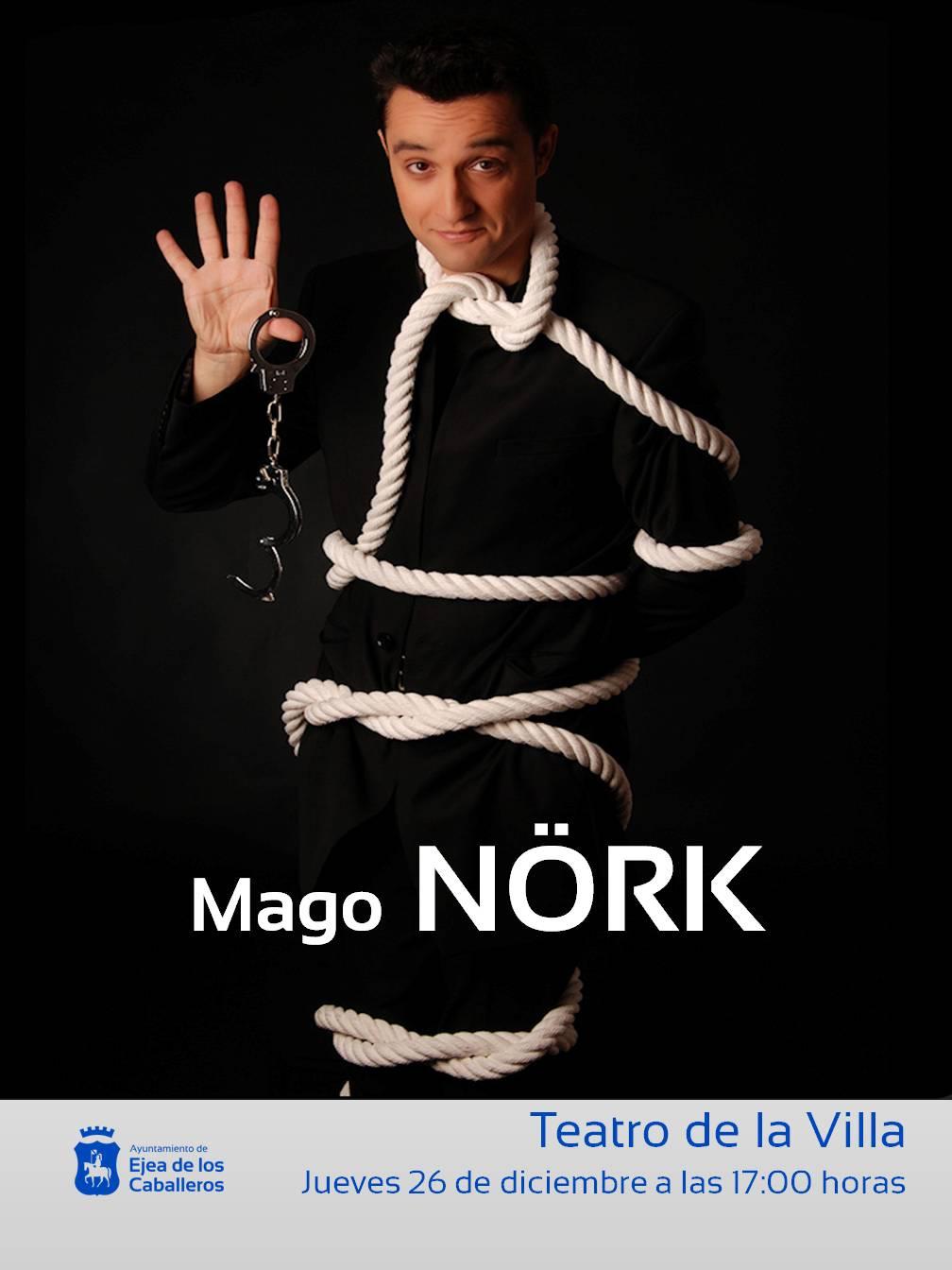 MAGIA, MÚSICA y HUMOR CON EL MAGO NÖRK