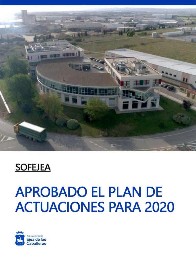 Sofejea centrará su actividad en 2020 en la planificación estratégica y la innovación