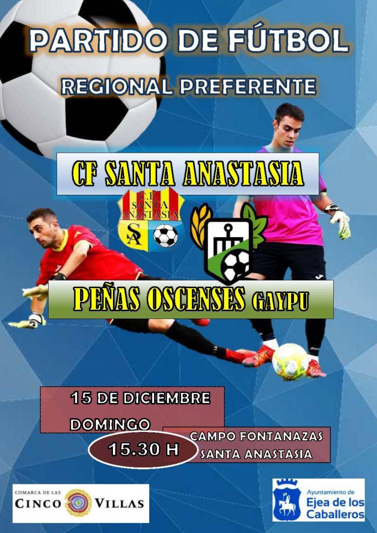 Fútbol Santa Anastasia-Peñas Oscenses