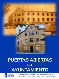 Puertas Abietas del Ayuntamiento de Ejea: Visitas guiadas con motivo del 40 Aniversario de los Ayuntamientos Democráticos