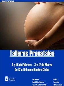 """Talleres prenatales en el espacio municipal """"con mi bebé en brazos"""""""