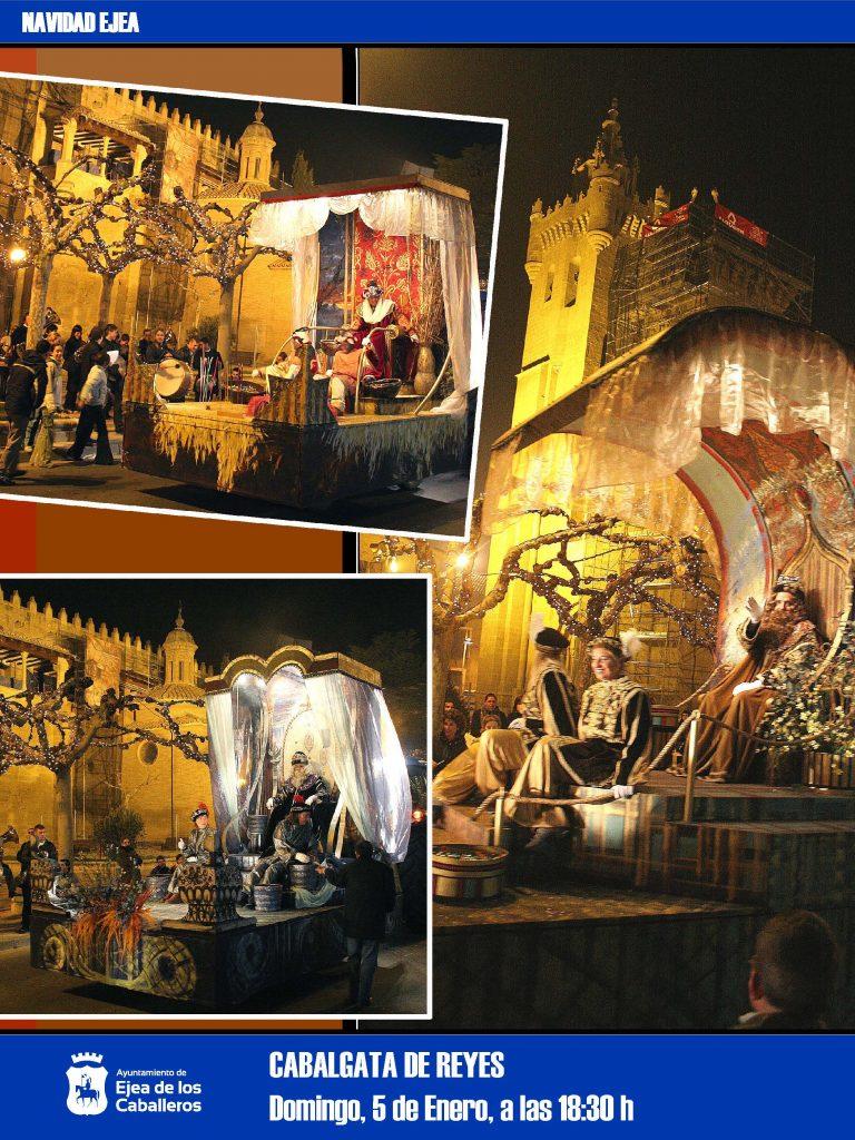 """Noche de Reyes en Ejea: Fiesta de la ilusión, fiesta de la emoción y """"Noche de Cuentos"""""""