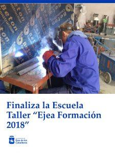 Finaliza la formación de los jóvenes de la Escuela Taller «Ejea Formación 2018»