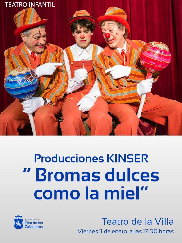 Bromas dulces como la miel de producciones Kinser para público infantil y familiar