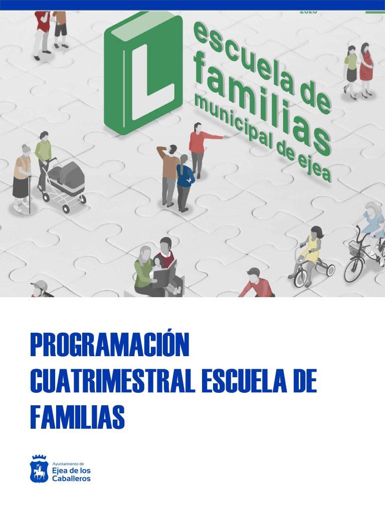 En marcha las actividades de la programación cuatrimestral de la Escuela de Familias en Ejea