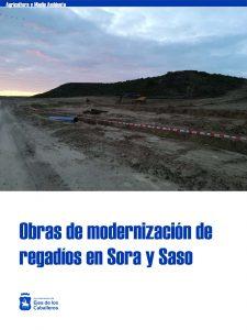 En marcha los proyectos de puesta en riego y modernización del Comunal de Ejea de los Caballeros