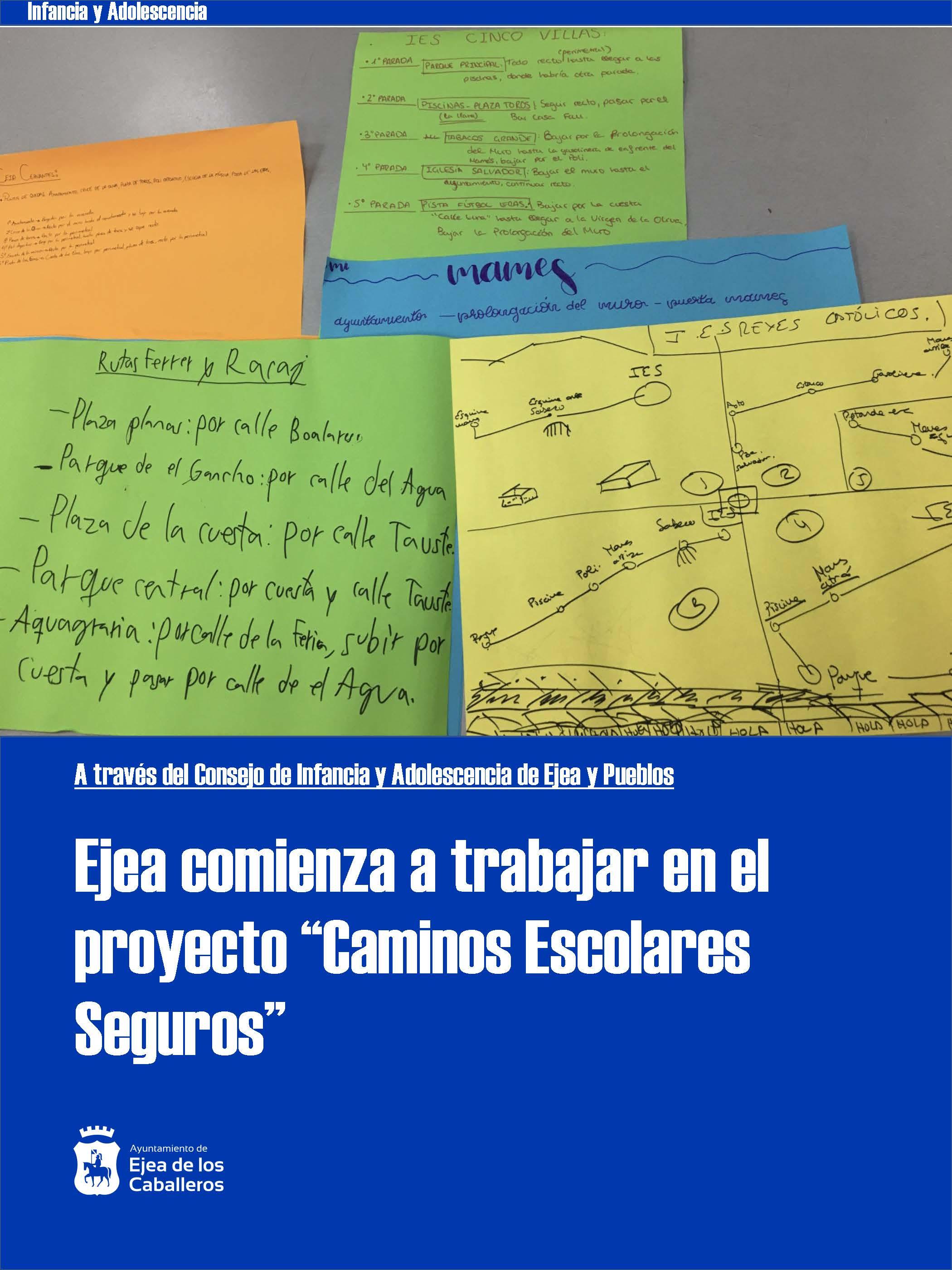 """El Consejo de Infancia comienza a trabajar en el proyecto """"Caminos Escolares Seguros"""""""