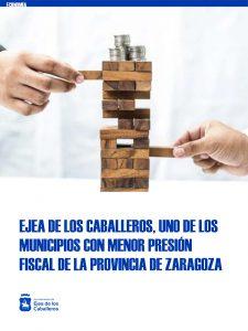 Ejea de los Caballeros vuelve a figurar entre los municipios con menor presión fiscal y mayor esfuerzo inversor de la provincia de Zaragoza